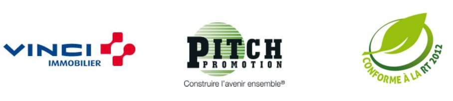 logo PITCH PROMOTION - VINCI Immobilier et rt 2012
